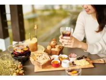 白馬の秋風を感じるテラスでホットワイン&チーズのマリアージュを楽しもう!