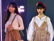 【TGC2020AW】齋藤飛鳥&堀未央奈、かわいいオシャレコーデで登場 坂道グループが美の競演