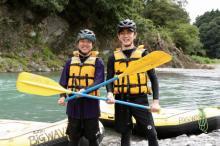 """""""親友""""小泉孝太郎&ムロの2人旅再び 巨大魚釣り、キャンプに挑戦"""