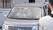 伊勢谷友介容疑者を送検 留置先の湾岸署から 車内はカーテン