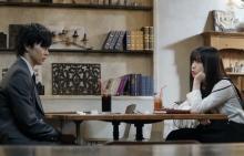 佐藤大樹&橋本環奈、真逆な2人が共作ミッション 映画『小説の神様』場面写真解禁