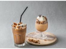 """""""ダルゴナコーヒー""""をアレンジしたスイーツ&ドリンクが瓦カフェに登場!"""