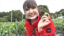 乃木坂46・久保史緒里、ニジマス獲ったどー  ロケバラエティーに単独出演