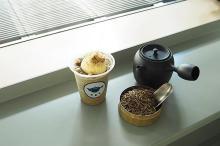 『すすむ屋茶店』渋谷明治通り店限定のシーズナルメニュー。テイクアウトもOKな「ほうじ茶スムージー」が登場