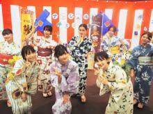 アンジュルム、浴衣で夏祭り&12曲ライブ 川村文乃『ソロフェス!』優勝ご褒美特番