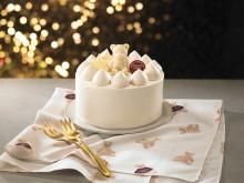 ベア柄のランチョンマット付き!ジェラートピケ初のクリスマスケーキが登場