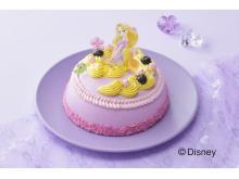 """ドレスと髪が印象的!""""ラプンツェル""""をイメージしたデコレーションケーキ"""