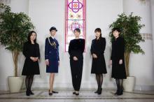 ドラマ『七人の秘書』、木村文乃ら5人の秘書の集合カット公開