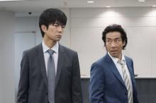 仲村トオル&岸谷五朗、2人の刑事が織りなす横山秀夫サスペンスドラマ化