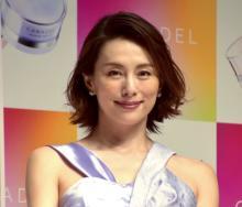 米倉涼子、独立後初公の場 新CMで「ちょっとだけよ」オマージュ「振り切って笑ってくださると…」