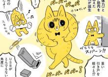 しおらしかった猫がワンパクに…保護猫の成長漫画に反響、作者「猫たちが来てよかったと思えるようにしたい」