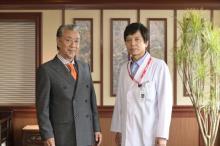 高田純次、『ドクターY』初出演 「悪役は演じていてすごく楽しい」
