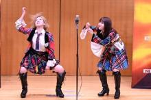 AKB48・大家志津香&中西智代梨のコンビ「めんたい娘。」 『M-1』1回戦突破