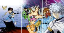 『ダイの大冒険』新装彩録版1~3巻のカバーイラスト公開 渋谷と新宿で大型広告を展開