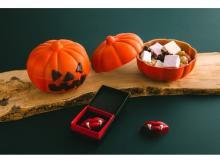 人気のかぼちゃ型チョコボックス&吸血鬼リップ型ショコラが今年も登場!
