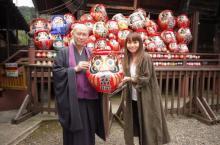 矢井田瞳、4年ぶりオリジナルアルバム『Sharing』リリース ツアー成功祈願でだるま奉納
