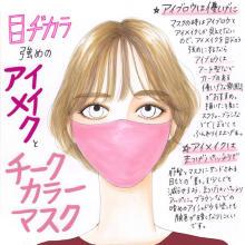 マスクメイクがもっと楽しくなる♡流行りの「カラーマスク」に似合うメイクのポイントを伝授します