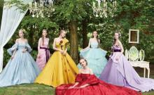 ディズニーキャラの新作ウェディングドレス発表 三浦大地デザインのプリンセスドレスも初お披露目