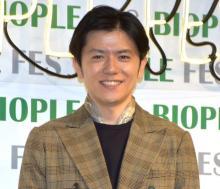 青木源太アナ、フリー転身後初イベント「一つひとつの仕事を丁寧に」 初めてのスカーフに照れ