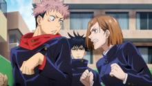 アニメ『呪術廻戦』虎杖と釘崎、狡猾な呪霊と対峙 第3話場面カット公開