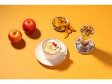 スヌーピーのテーマカフェに秋を感じるデザート&ホットドリンクが登場!