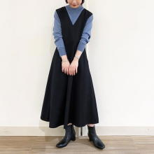 【今週なに着る?】日によって気温差がありそう…20度前後の今週はインナーで調節できるジャンパースカートが◎