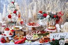 今年最後のご褒美に♩ストリングス表参道のクリスマスビュッフェは「眠れる森の美女」の世界に浸れちゃう♡