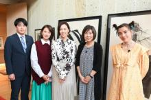 木村佳乃、『恋する母たち』原作者の豪邸訪問し大興奮 安住アナ「声量は高畑淳子さんと同率1位」