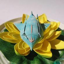 母国・インドの国花「蓮」で眠るララァに魅了されたママモデラー「美しいものが嫌いな人がいるのかしら?」