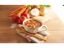 美味しく置き換えダイエット!「美穀菜」にレンジ対応のトマトスープが登場