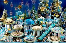 きらめく星空ケーキはクリスマスにぴったり♡ヒルトン福岡、今年最後のスイーツビュッフェがロマンティック♩