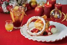 Afternoon Teaのクリスマス限定メニューは林檎がメイン!新作の贅沢アップルパイはマストチェックですよ♡
