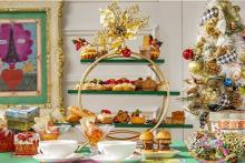 パン好きさんに贈る冬のご褒美♡ヒルトン東京「パンが主役」のアフタヌーンティーがクリスマス仕立てに♩