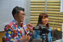 ビビる大木、AKINAと夫婦初共演 天野会メンバーで生トーク