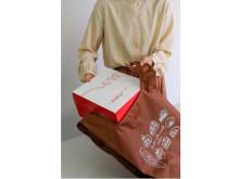 ケーキの持ち帰りに便利!「銀座コージーコーナー」のオリジナルエコバッグ