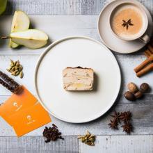 チャイ×チーズのコンビが最強すぎ…♡「旅するチーズケーキ」新作はチャイと洋梨を使ったケーキがお目見えです