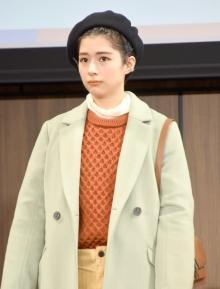 佐久間由衣、公開スタイリングに赤面 華麗な変身に「すごくかわいい」