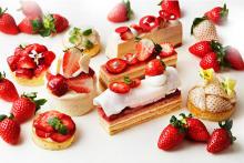 イチゴのご褒美メニューがインターコンチ大阪で12月スタート♡ヨーロッパ旅行気分が楽しめるブッフェも◎