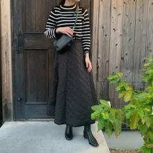 【今週なに着る?】秋晴れでも15度前後の寒い日も。それならキルティング素材のスカートであったかおしゃれが◎