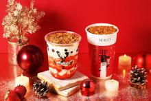 クリスマスシーズンは甘いドリンクでほっと一息。「ジ アレイ」にまるでケーキのような新作が登場します♡