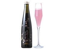 可憐なピンク色!「すず音」をベースにした季節限定スパークリング酒が発売