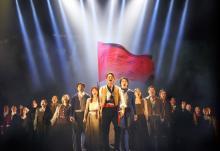 生田絵梨花ら『レ・ミゼラブル』カンパニーが『FNS歌謡祭』出演 視聴者と「民衆の歌」でバーチャルコラボ