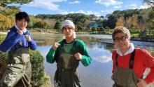 中川大志、念願の池の水抜きに初挑戦「楽しみで眠れなかった!」