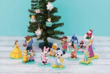 おうちクリスマスを彩るディズニーキャラクター「Happyくじ」に登場