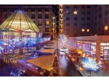 「都ホテル 京都八条」&「イオンモールKYOTO」でクリスマス装飾がスタート