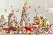 パステルカラーのご褒美ランチ♡グランドニッコー東京ベイ舞浜のクリスマスブッフェは16日間だけのお楽しみ♩