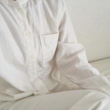 """無印良品の""""ふわふわシャツ""""はもうゲットした?♡ 今の季節はレイヤードにも使えるから持っておきたいんです◎"""