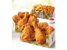 ボリュームたっぷり!KFCからお得な「ウィンターパック」が今年も登場