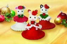 シルバニアファミリーの新作3Dシュガーケーキ登場 35周年祝うクリスマスコラボ実現
