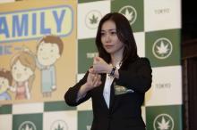 大島優子、手話通訳シーンに挑戦「小学生の時、手話クラブだった」